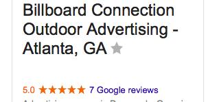 Atlanta Billboard Photo